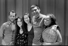 VanSlam's newest slam team: Erich Haygun, Erin Kirsch, Julie Peters, Zaccheus Jackson, Jillian Christmas. Photo: Hollis Cellout