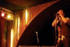 C.R. Avery playing at Blues & Haikus.