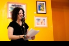 Photo by Nathan Hoo: January's Voices of Venus feature poet, Christine McNair.