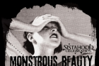 Poster for Monstrous Beauty Cabaret. Designed by Shannon Pawliw. Courtesy of Amber Dawn.
