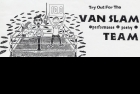 Detail from 1996 poster for Van Slam bouts 2 to 5. Courtesy of Justin McGrail.